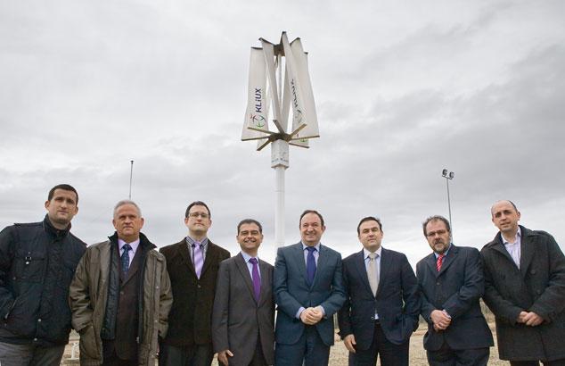 Presentación del aerogenerador de eje vertical de Kliux Energies