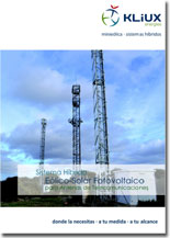 Sistema Híbrido Solar Fotoviltaico para Antenas de telecomunicaciones