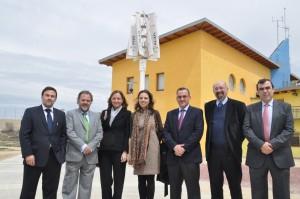 Kliux inaugura un aerogenerador en la Universidad de Zaragoza