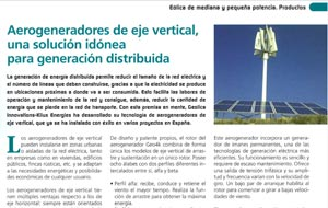 Artículo en la revista Infopower