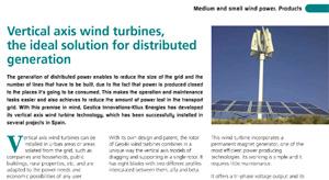 Kliux Energies Vertical Axis Wind Turbines