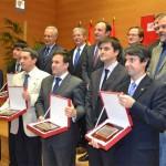 Fotografía de los ganadores de los Premios de la Universidad de La Rioja