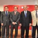 Foto de los premiados por la Universidad de La Rioja